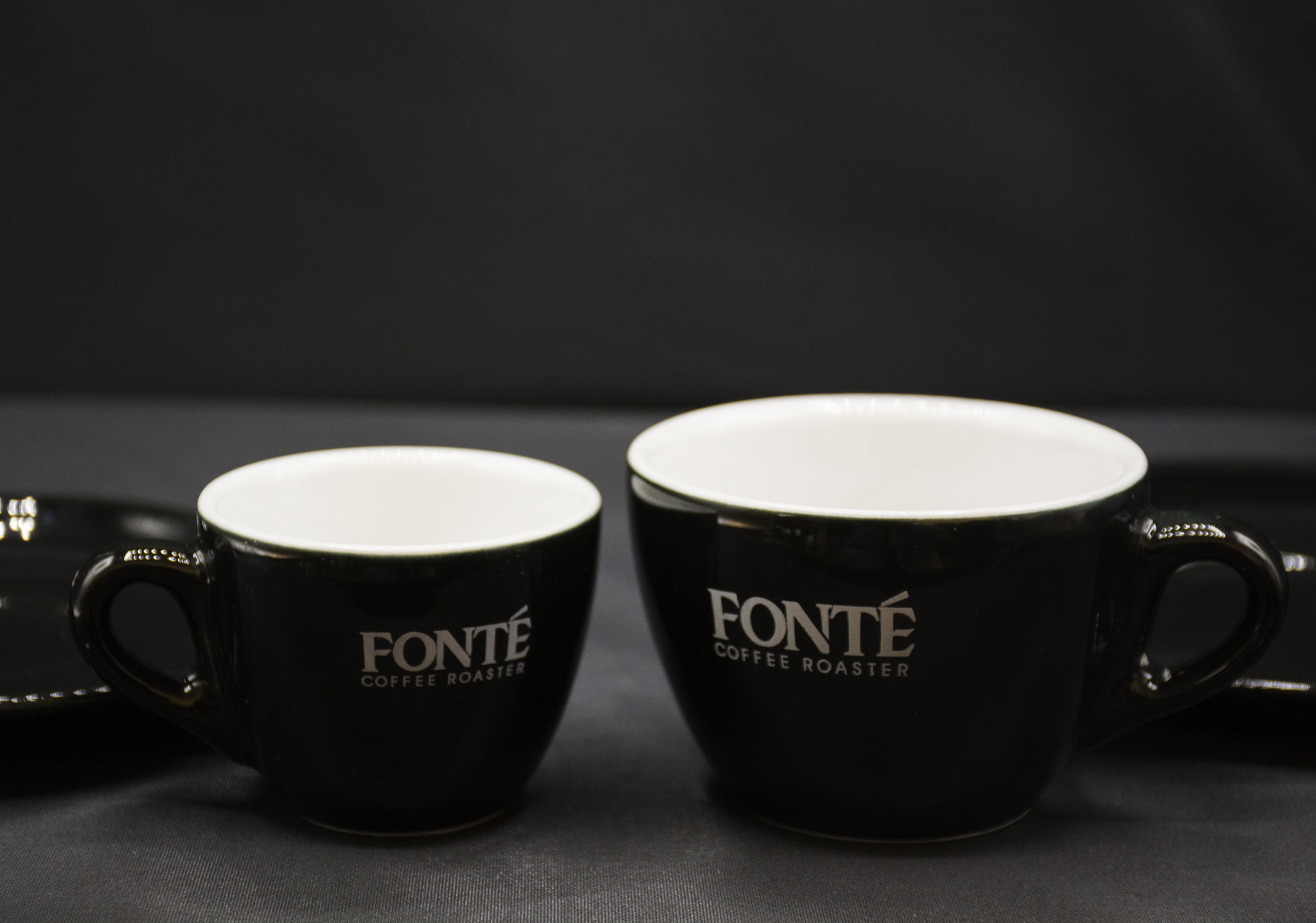 Fonte Coffee Roaster 3 oz and 6 oz Ceramic Coffee Cups