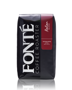 Buy Fonte Italian Coffee Blend Available as Whole Bean, French Press, Drip, Melitta, Home Espresso, Commercial Espresso, and Turkish, and Weekly, Biweekly, Monthly or Bimonthly Subscriptions