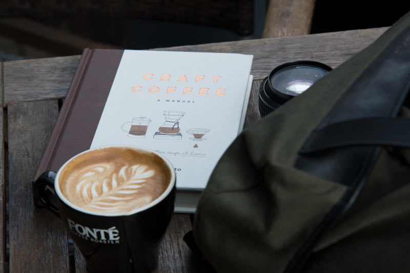 Enjoy coffee on the go