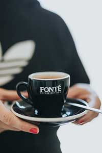 Coffee Served at Fonte
