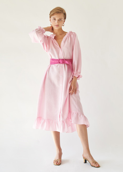 Judas Tree Pink Loungewear Dress