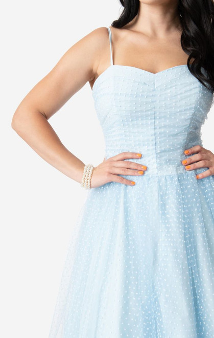 LC01WD0 Lucy UV Light Blue Honeymoon Dress
