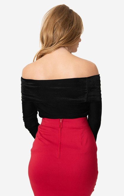 UV Black Velvet Nina Top