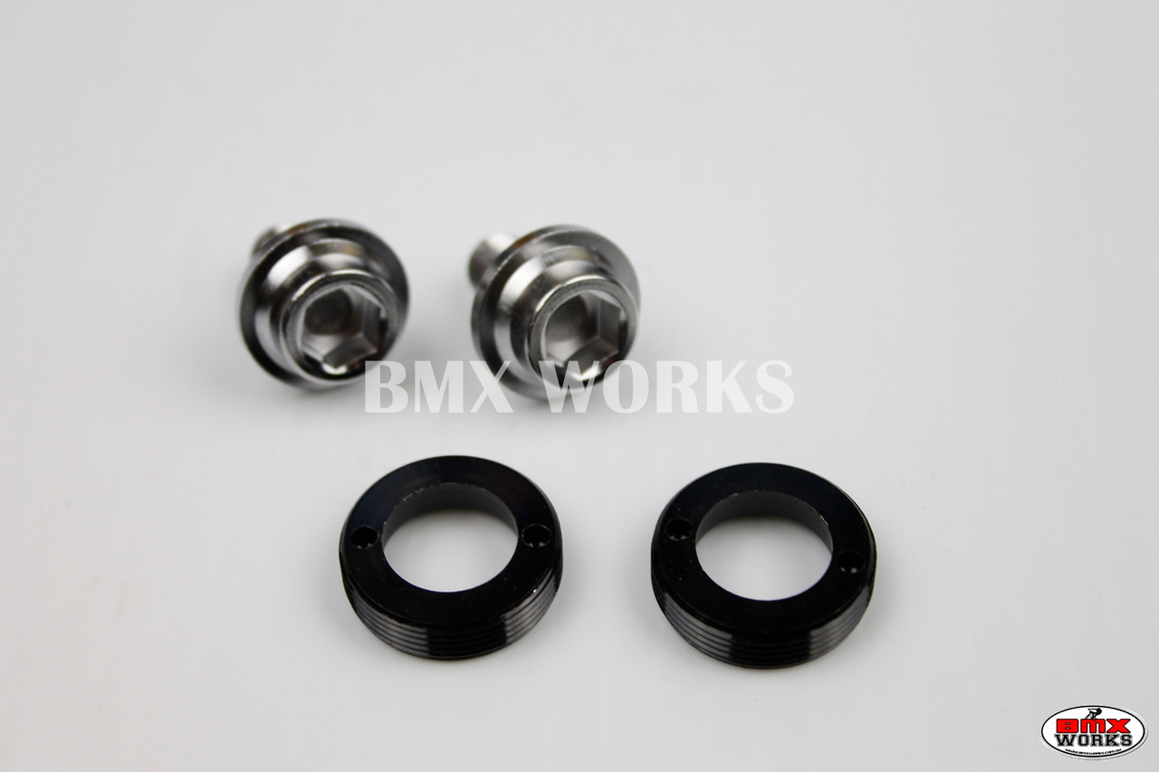 Redline Flight BMX Crank Bolt /& Washer Pair Old School BMX Style