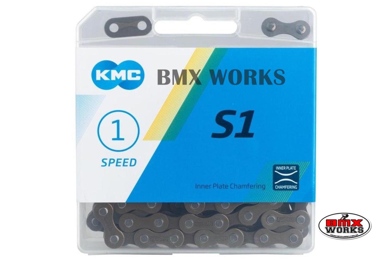 """KMC Z410A 1//2/"""" x 1//8/"""" x 116 Link Chain Brown Suit BMX"""