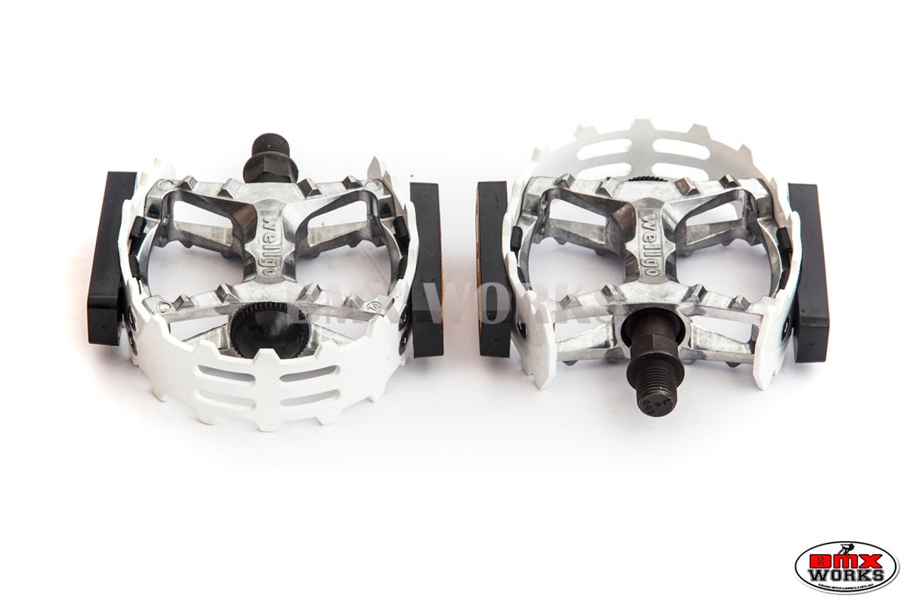 "VP XC II Beartrap Type Pedals 1//2/"" ALLOY BLACK 1//2"