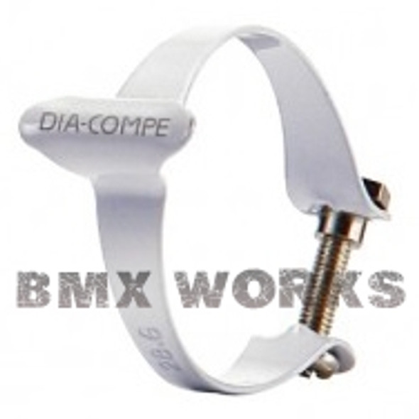 Dia-Compe 28.6mm Cable Clamp White