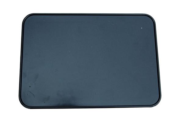 Neal Enterprises Retangle Number Plate Black