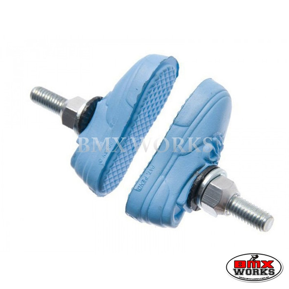Kool Stop Vans Shoe Threaded Brake Pads - Pairs Baby Blue