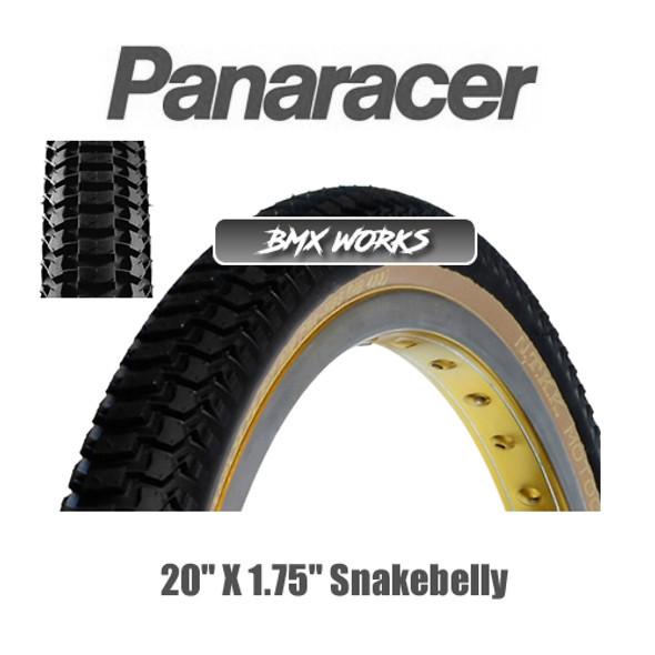"""Panaracer NTKK Snakebelly Tyre 20""""' x 1.75"""" Black"""