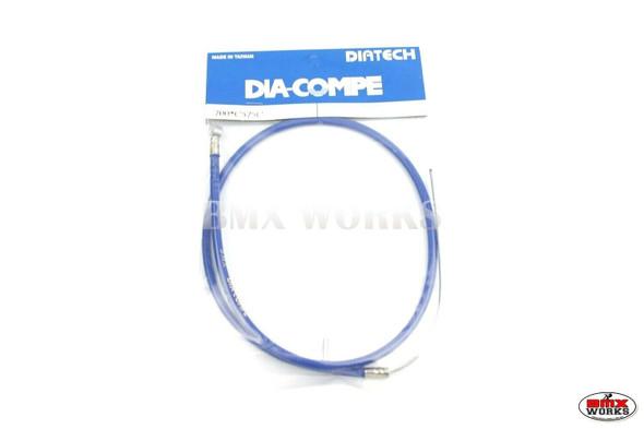 Dia-Compe BMX Logo Front Brake Cable Blue