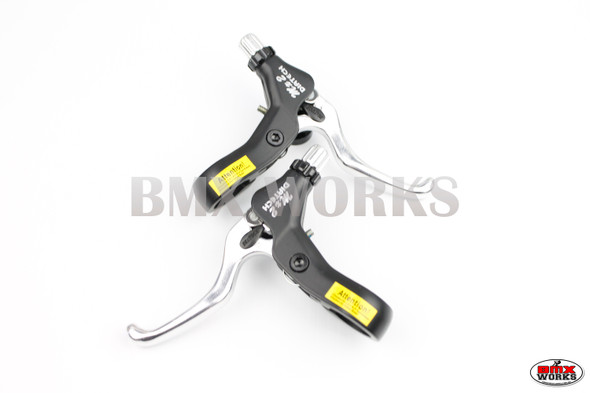 MX2 Brake Levers Black & Silver - Pairs - Dia Compe