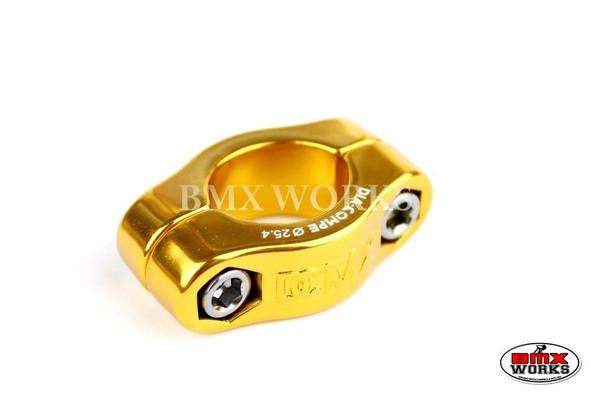 Dia-Compe 2 Bolt Seat Clamp MX1500 25.4mm Gold