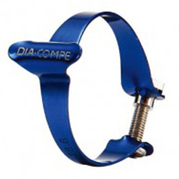 Dia-Compe 31.8mm Cable Clamp Blue