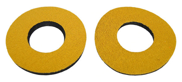 ProBMX Flite Style BMX Bicycle Foam Grip Donuts - Gold Pairs