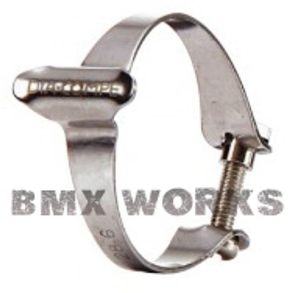 Dia-Compe 25.4mm Cable Clamp Chrome