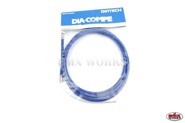 Dia-Compe BMX Logo Rear Brake Cable Blue