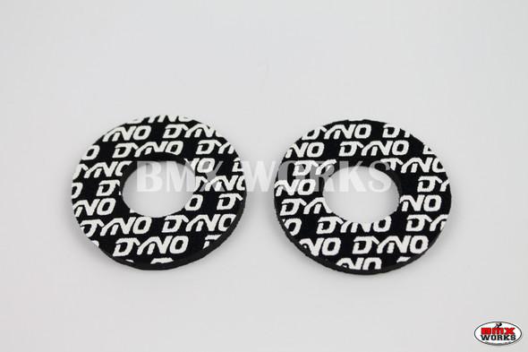 ProBMX Flite Style Dyno Black & White Grip Donuts
