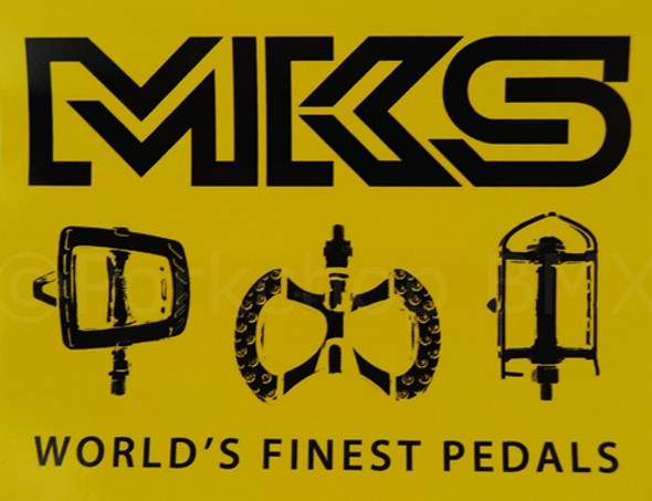MKS Decal - Black & Yellow