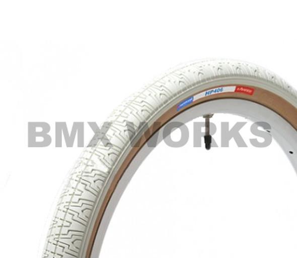 "Panaracer H406 Freestyle Tyre 20""' x 1.75"" White"
