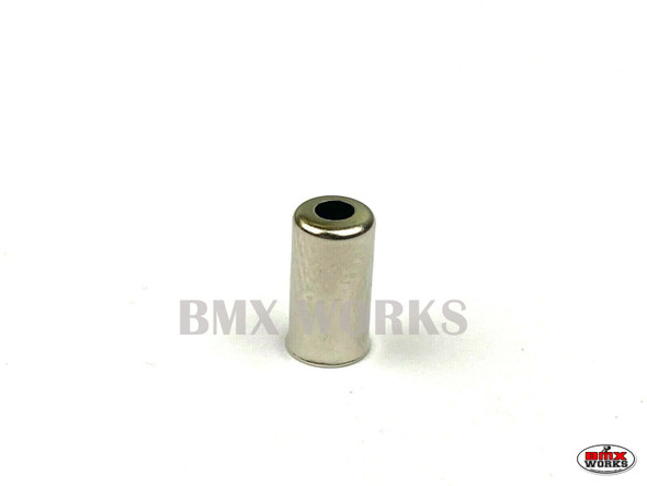 Brake Cable End Ferrule Chrome Suit 5mm