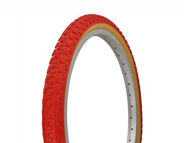 "CST BMX Comp 3 Red Tread with Skinwall 20"" x 1.75"""