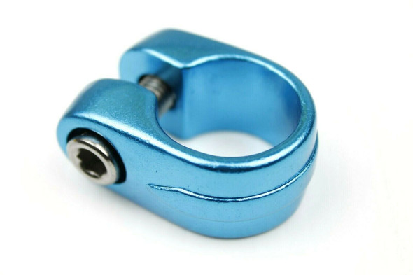 Suntour Style Seat Clamp - 28.6mm Bright Blue