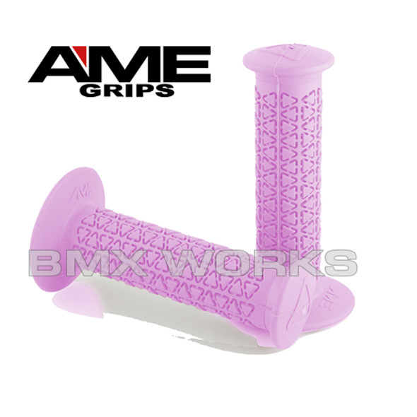 AME Grips Round Pink Pair