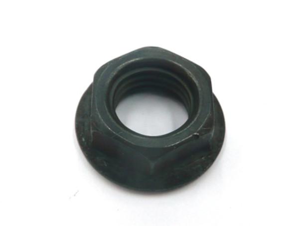 3 Piece Crank Axle Nut Black Steel