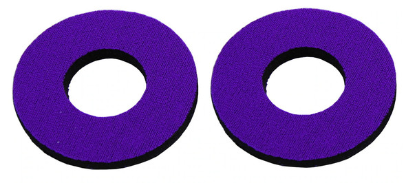 ProBMX Flite Style BMX Bicycle Foam Grip Donuts - Violet Purple Pairs