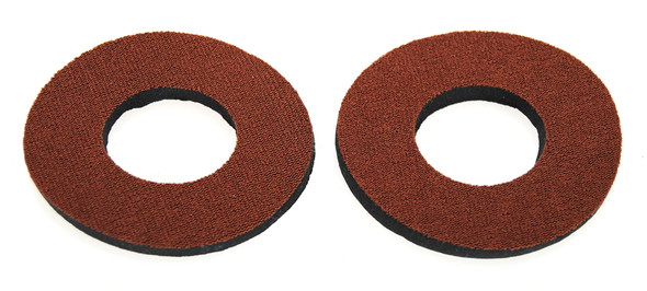 ProBMX Flite Style BMX Bicycle Foam Grip Donuts - Saddle Brown Pairs