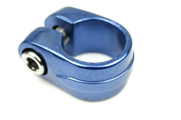 Suntour Style Seat Clamp - 28.6mm Dark Blue