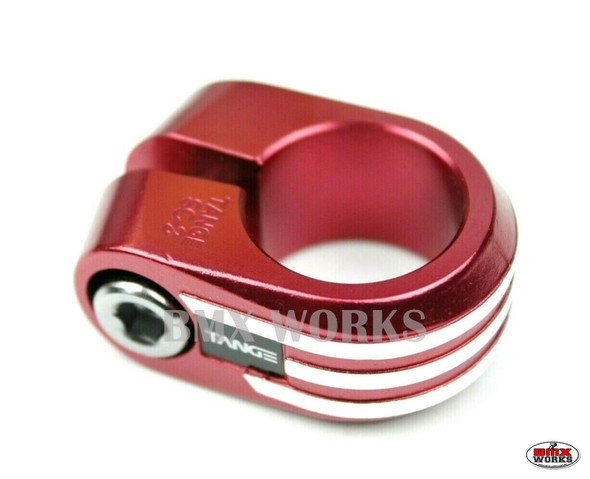 Tange SC-2 Seat Clamp  25.4mm Red