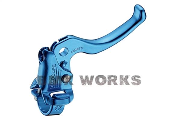 Dia-Compe MX122 Left Hand Brake Lever Bright Blue