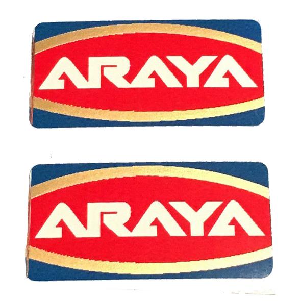 Araya Rims Wheel Decals - Sold In Pairs