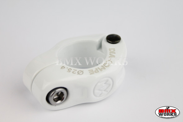Dia-Compe Seat Clamp MX1500N 25.4mm White