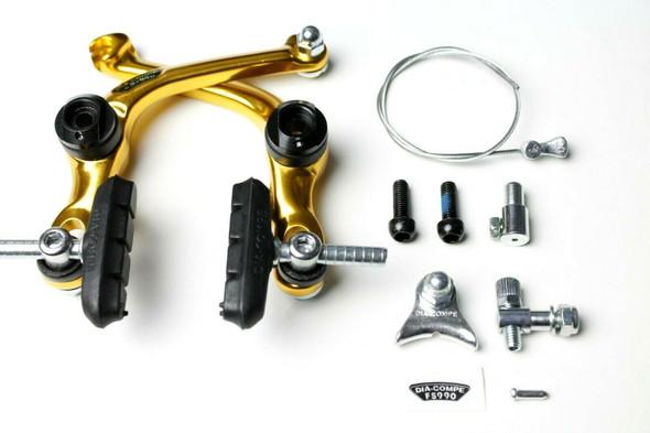 Dia-Compe AD-990 - FS-990 U-Brake Caliper Gold
