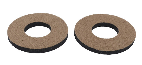 ProBMX Flite Style BMX Bicycle Foam Grip Donuts - Light Brown Pairs