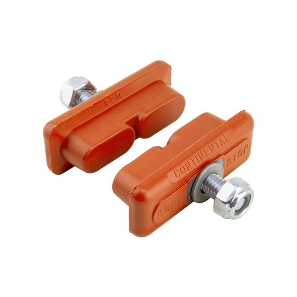 Kool Stop Continental Brake Pads Salmon - Sold In Pairs