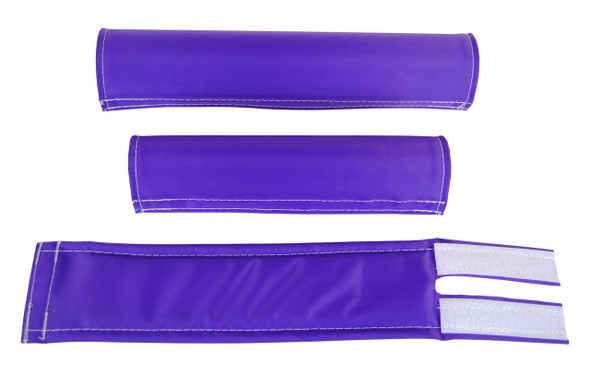 FLITE 3 Piece Nylon BMX Padset - Purple