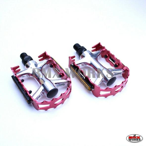 "ProBMX Retro Pedals 9/16"" Red"