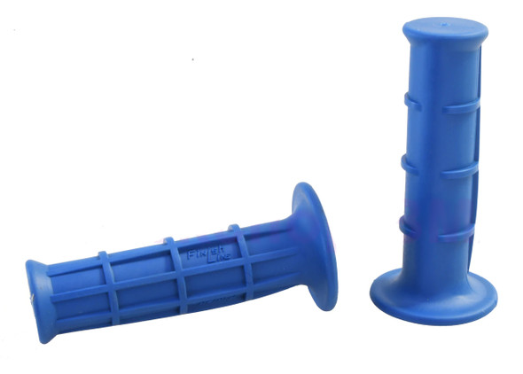 Neal Enterprises Finish Line Old School Retro BMX Grips - Blue