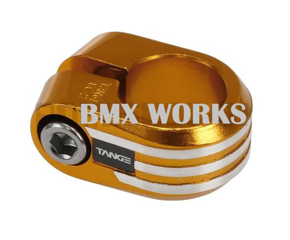 Tange SC-2 Seat Clamp  25.4mm Gold