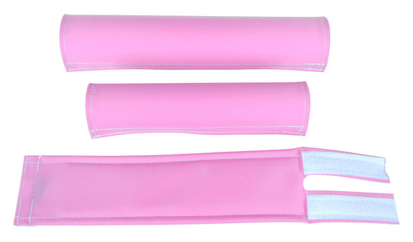 FLITE 3 Piece Nylon BMX Padset - Pink