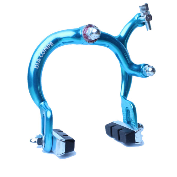 Dia-Compe MX890 Front Brake Caliper Bright Blue