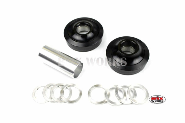 ProBMX American Bottom Bracket Suit 22mm Axle Black