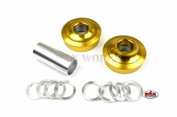ProBMX American Bottom Bracket Suit 22mm Axle Gold