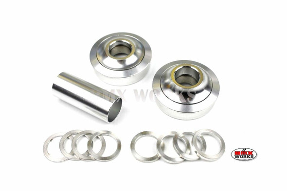 ProBMX American Bottom Bracket Suit 22mm Axle Silver