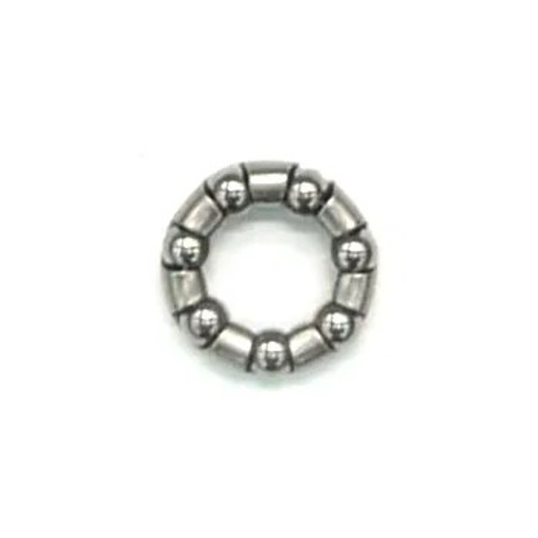 "Axle Bearings 3/16"" In Cage - 20mm Cage Diameter"