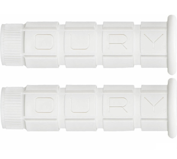 Oury Downhill Freestyle Grips - White Pair